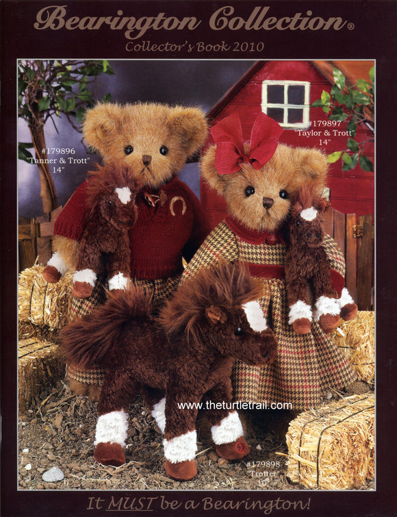 Bearington Collector's Book for Fall and Winter 2010-2011