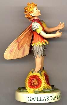 Gaillardia Fairy with Base 88931 (boxed) (RETIRED but in stock)
