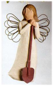 Angel of the Garden Ornament (2nd version) 26118 RETIRED but in