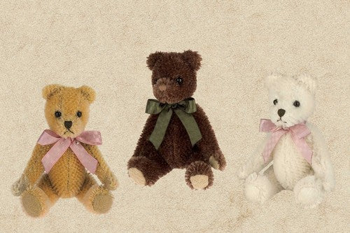 Mohair Bear Pack - Mo, Harry + Beary 350023 LIMITED OFFERING