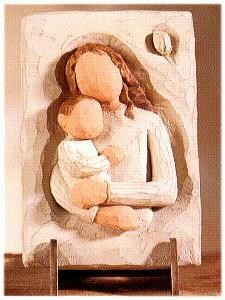Mother & Child Plaque 26501