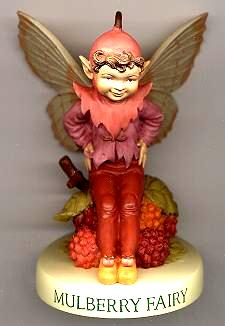 Mulberry Fairy with Base 88955 (boxed) (RETIRED but in stock)