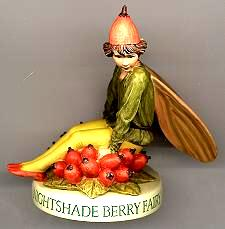 Nightshade Berry Fairy with Base 88932 (boxed) (RETIRED but in)