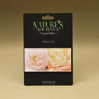 Peony Magnets - Set of 2 Assorted 16702