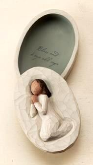 Angel of Prayer Keepsake Box 26605