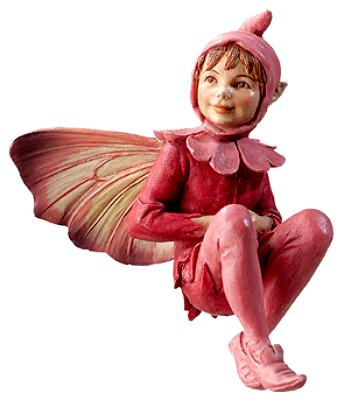 Red Campion Fairy 86968 (boxed) (RETIRED but in stock)