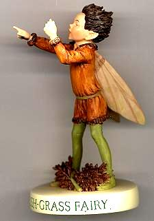 Rush-Grass Fairy with Base 88958 (boxed) (RETIRED but in stock)