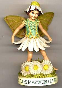 Scentless Mayweed Fairy with Base 88943 (boxed) (RETIRED but in)
