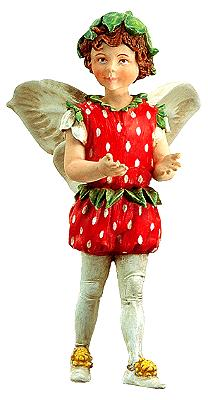 Strawberry Fairy w/o Flower 86908 (boxed) (RETIRED but in stock)