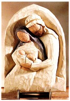 The Holy Family Plaque 26508
