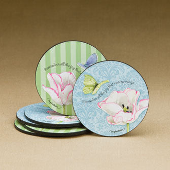 Triumph Tulip Coasters - Set of 6 Assorted 16656