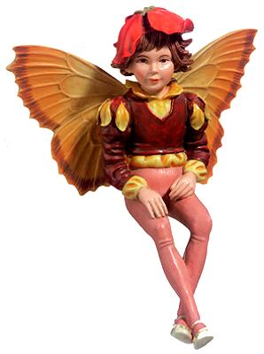 Wallflower Fairy 86981 (boxed) (RETIRED but in stock)