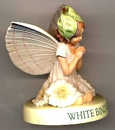 White Bindweed Fairy with Base 88925 (boxed) (RETIRED but in)