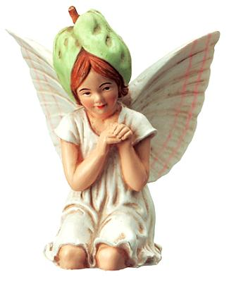 White Bindweed Fairy 86925 (boxed) (RETIRED but in stock)
