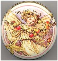 Round Tin - White Bryony Fairy