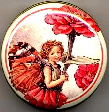Round Tin - Zinnia Fairy