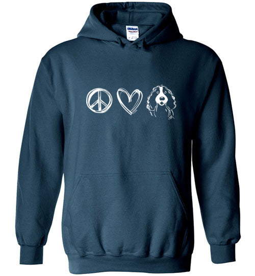 Big Fluffy Dog Rescue Unisex Sweatshirt - Life is Better with a Big Fluffy Dog