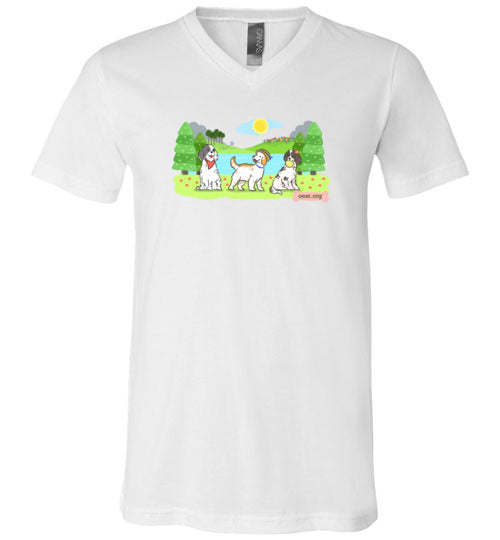 Our English Setter Rescue - Unisex Crew Neck Tee