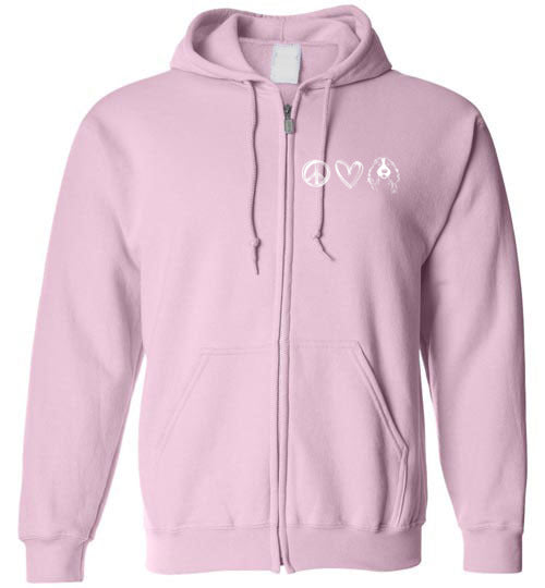 ESRA 20 Years of Rescue - Unisex Zip Hoodie Sweatshirt