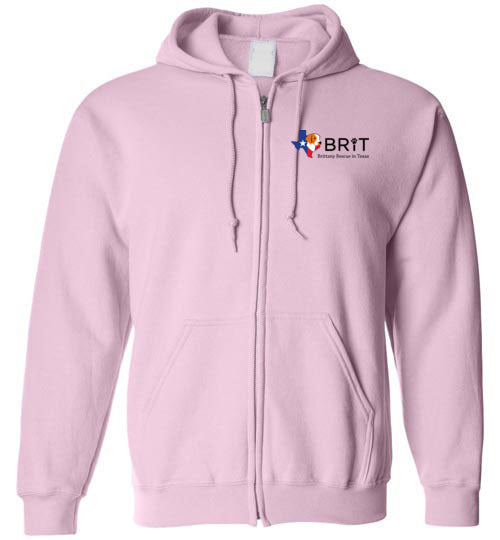 BRIT Rescue in Texas - Zip Hoodie Sweatshirt