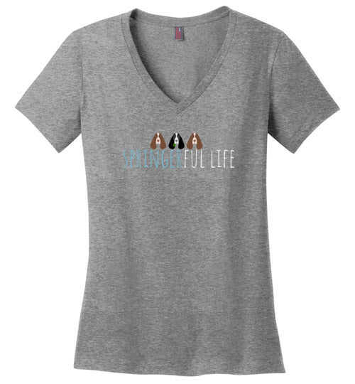 ESRA 20 Years of Rescue - Ladies V-Neck Tee