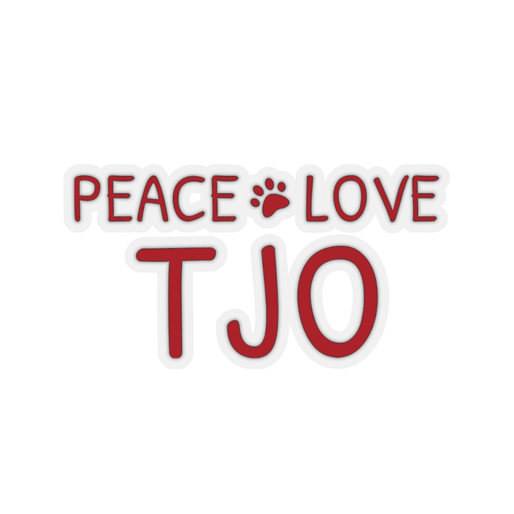 Foundation for TJO Animals - Sticker Cling