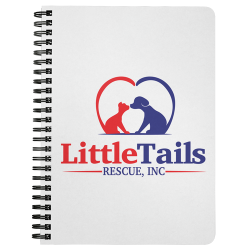 Little Tails Rescue, Inc - Spiral Notebook