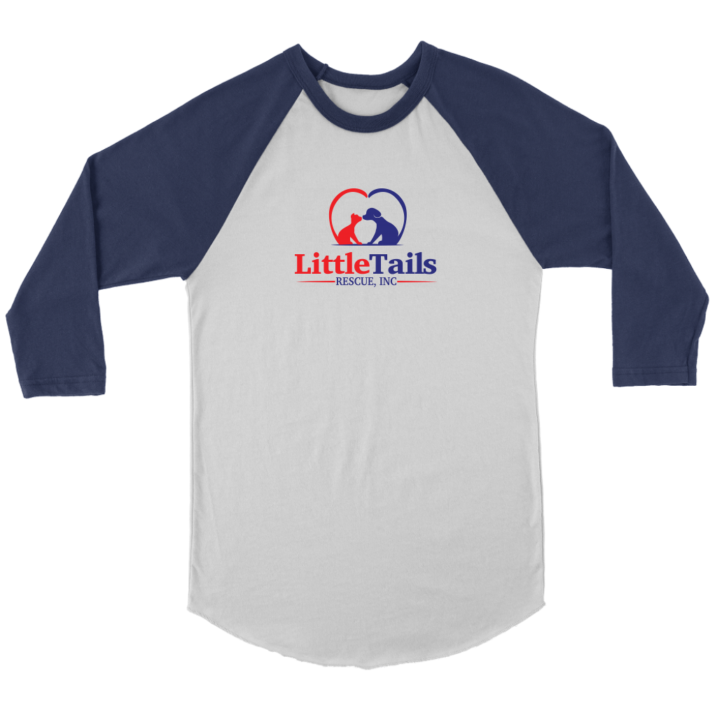 Little Tails Rescue, Inc - Raglan Tee