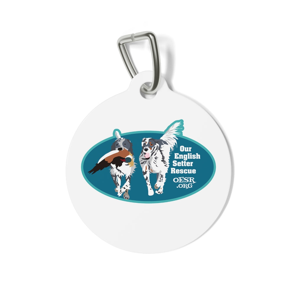 Our English Setter Rescue - Dog Tag