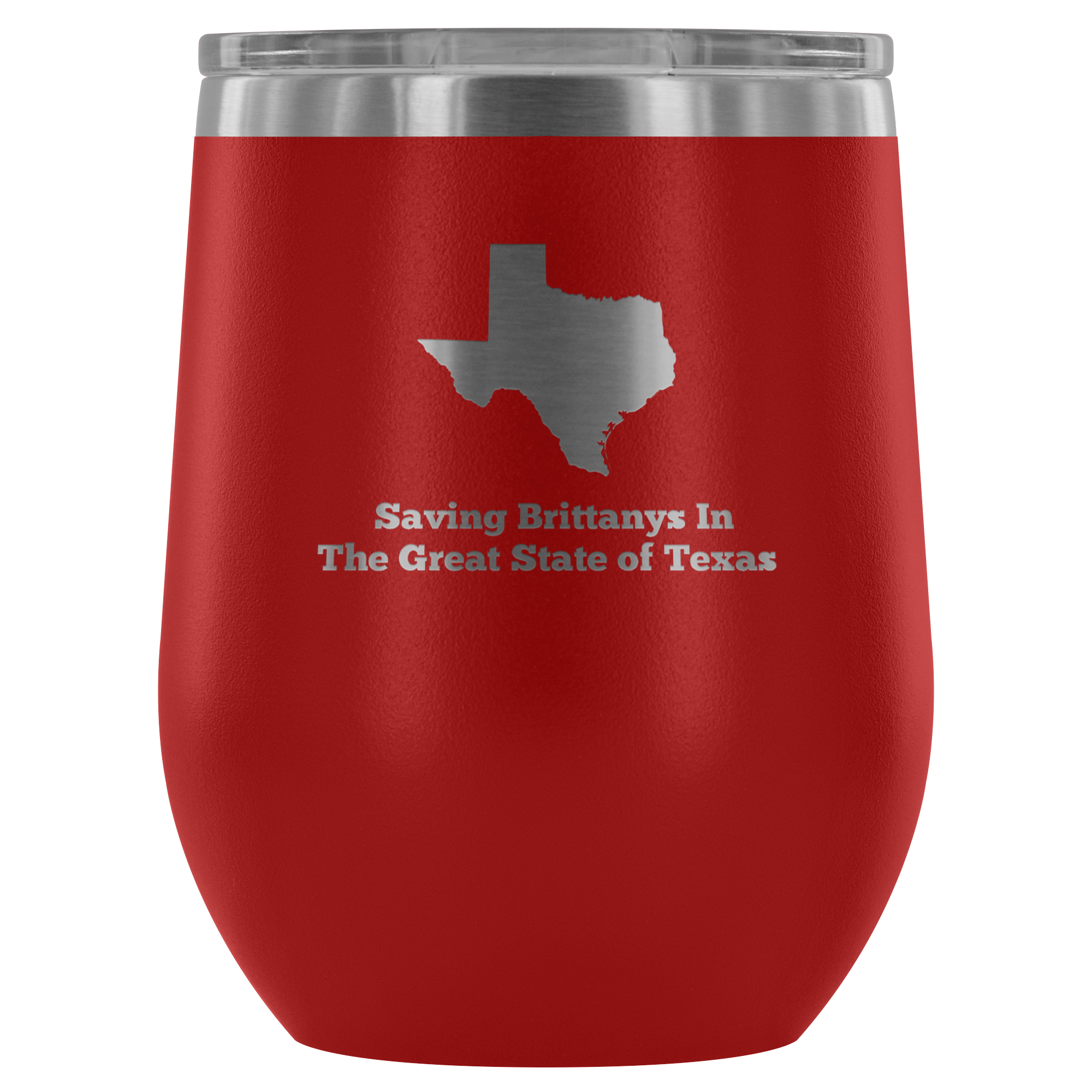 BRIT Rescue in Texas - Wine Tumbler