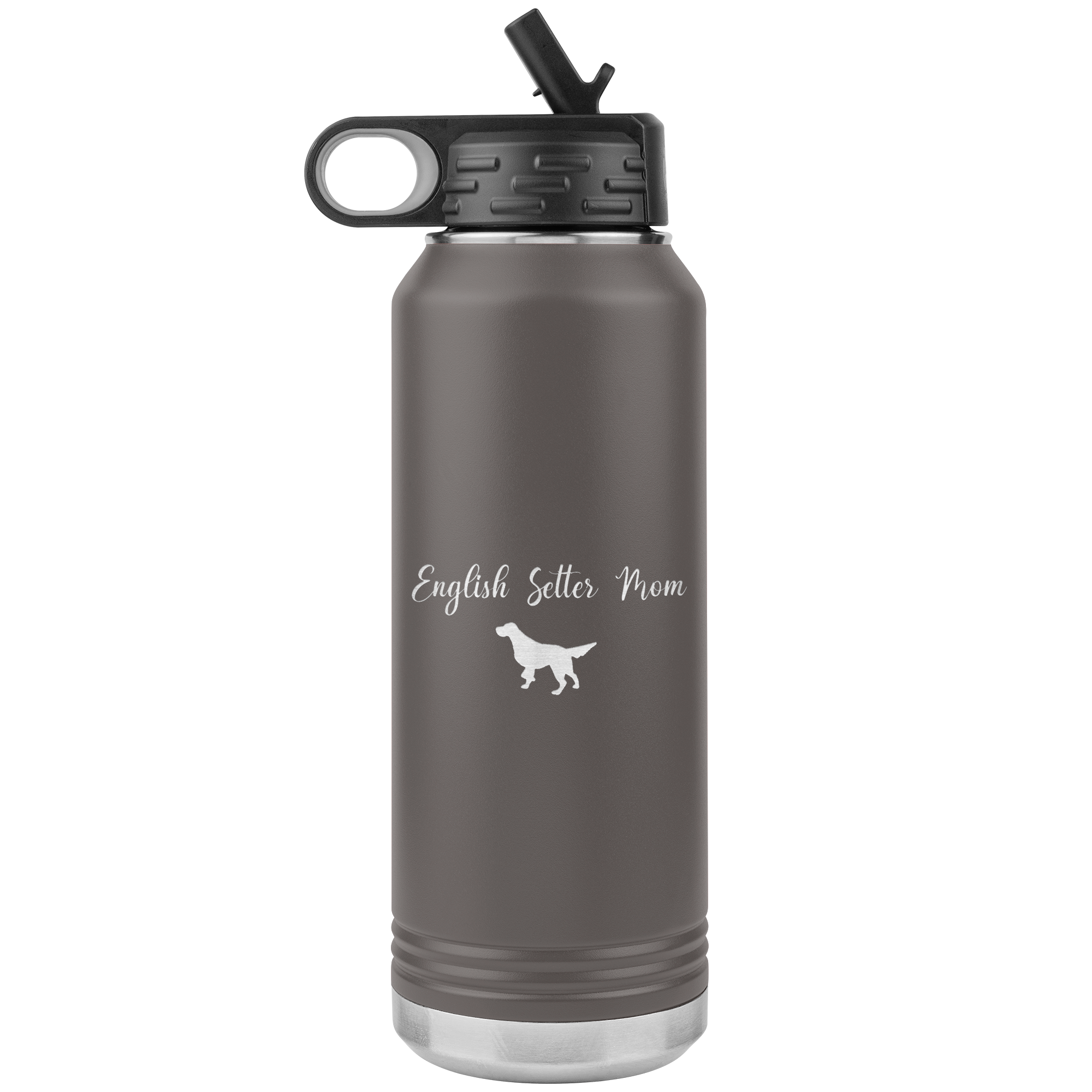 Our English Setter Rescue - 32 oz. Water Bottle Tumbler English Setter Mom