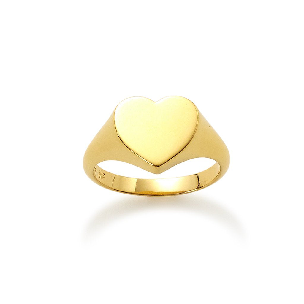 Heart Pinky Ring