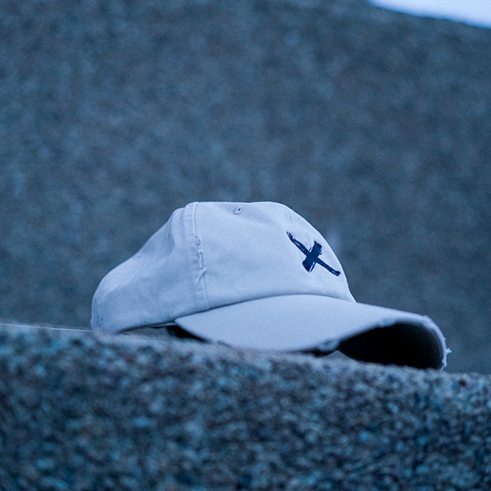 Hand-Distressed Dad hat