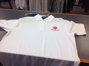 White Under Armour  golf shirt athletic