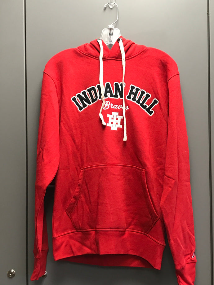 Red Adult League Stadium Hoodie