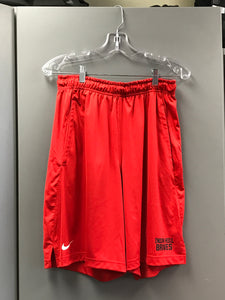 Red Nike fly short