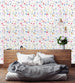 uniQstiQ Botanical Lovely Watercolor Field Wallpaper Wallpaper