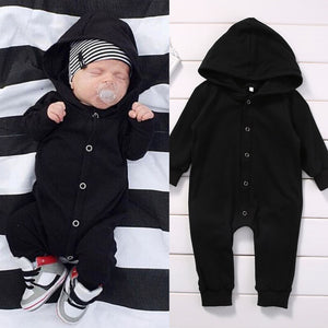 All Black Hooded Jumpsuit Australia Baby Shop Jumpsuit PBear Warehouse for Australia Baby Goods Online.