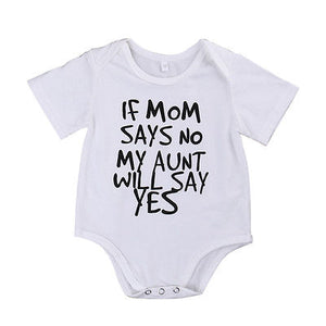 Aunt Will Say Yes Romper Australia Baby Shop romper PBear Warehouse for Australia Baby Goods Online.
