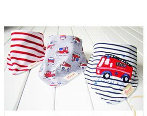 3PCS Red Fire Truck Bandana Bibs Australia Baby Shop Bibs PBear Warehouse for Australia Baby Goods Online.