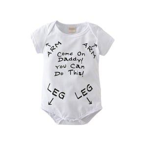 You Can Do This Daddy Romper Australia Baby Shop Romper PBear Warehouse for Australia Baby Goods Online.