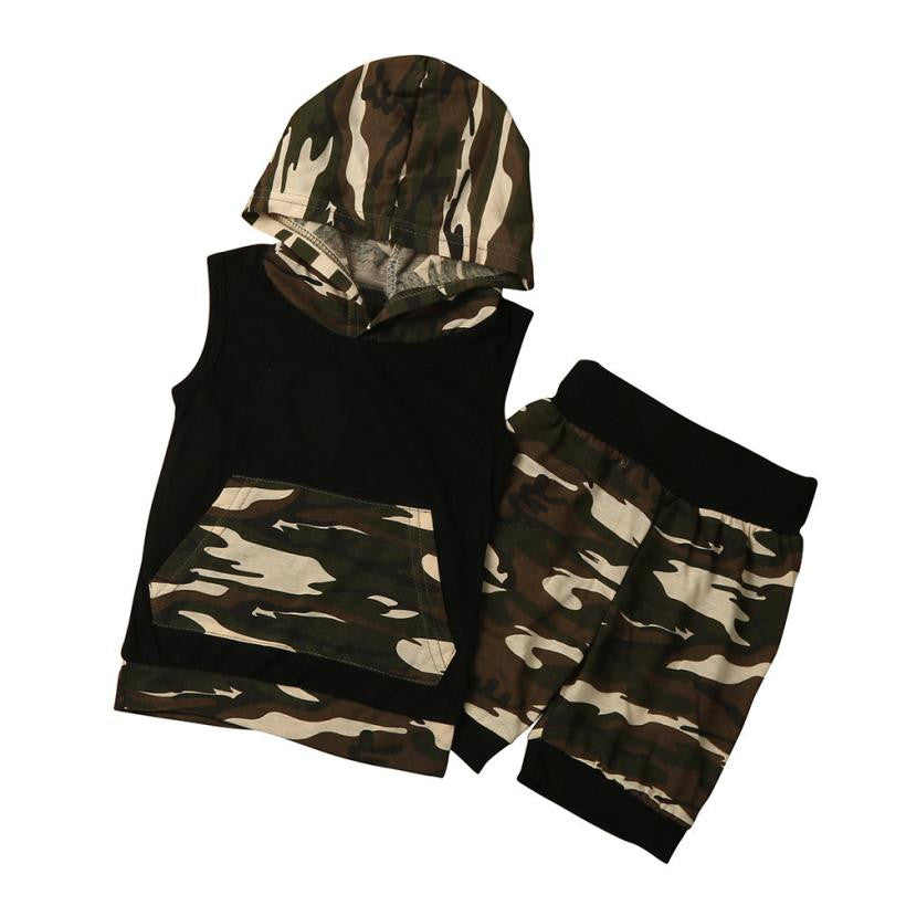 Camo Hooded Set Australia Baby Shop Clothing Set PBear Warehouse for Australia Baby Goods Online.