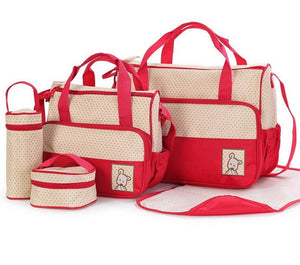 5PC Travel Baby Bags Australia Baby Shop Bag PBear Warehouse for Australia Baby Goods Online.