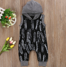 Grey Feather Hooded Jumpsuit Australia Baby Shop Jumpsuit PBear Warehouse for Australia Baby Goods Online.