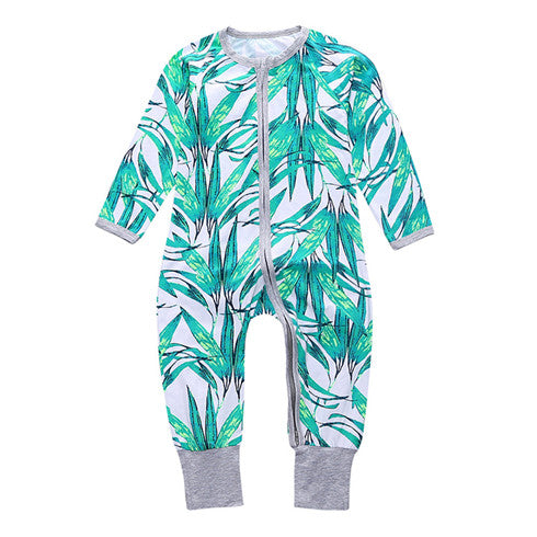 Leafy Sleepsuit With Hand And Feet Covers Australia Baby Shop Jumpsuit PBear Warehouse for Australia Baby Goods Online.