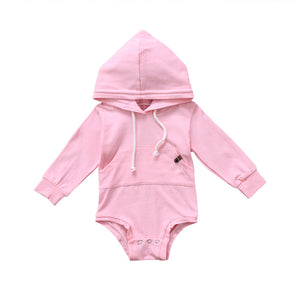 Pink Hooded Romper Australia Baby Shop romper PBear Warehouse for Australia Baby Goods Online.