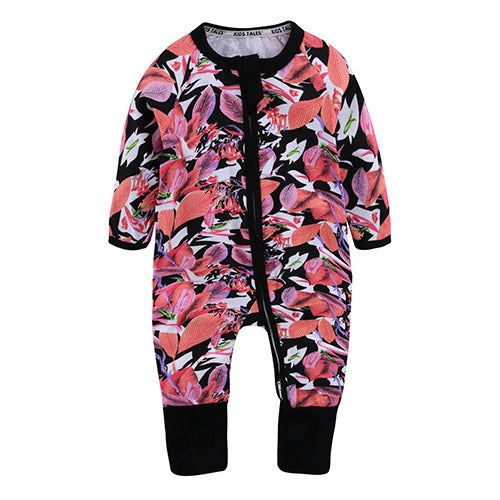 Flower Sleepsuit With Hand And Feet Covers Australia Baby Shop Jumpsuit PBear Warehouse for Australia Baby Goods Online.