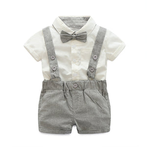 Grey Summer Suit Set Australia Baby Shop CLOTHING SET PBear Warehouse for Australia Baby Goods Online.