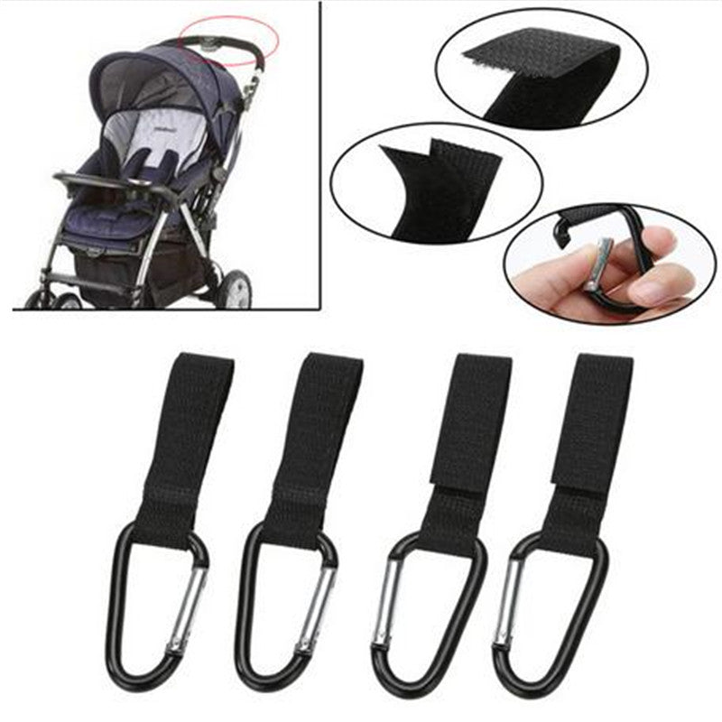 4PC Stroller Carabiner Hooks Australia Baby Shop Accessories PBear Warehouse for Australia Baby Goods Online.