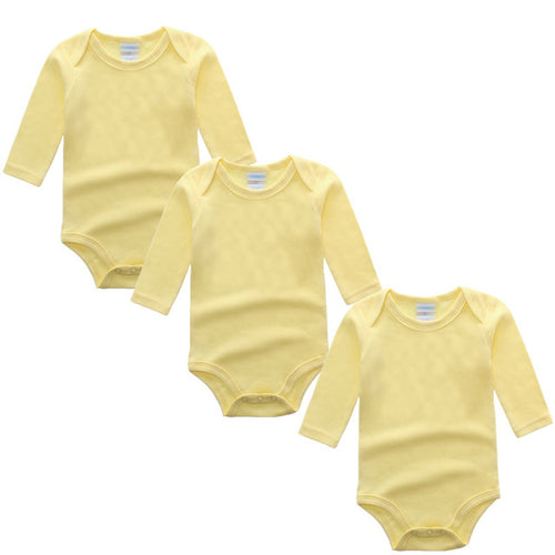3PC Yellow Long Sleeve Romper Set Australia Baby Shop Romper PBear Warehouse for Australia Baby Goods Online.
